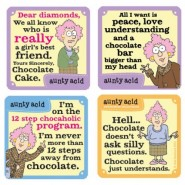 Life with a Chocolate - Aunty Acid Coasters