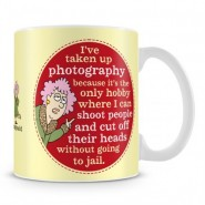 The violet Photographer Mug