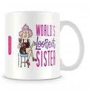 World's Loopiest sisters Mug