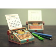 Type Writer Desk Calendar