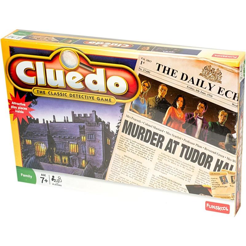 cluedo classic detective game
