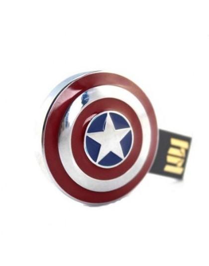 Captain America Shield (Metallic) Pendrive