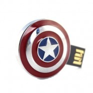Captain America Shield (Metallic) Pendrive