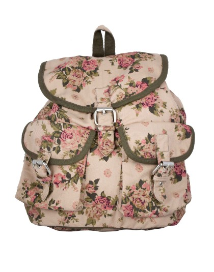BEIGEFLORL Backpack