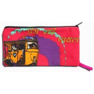 Multicolor Taxis Utility Pouch
