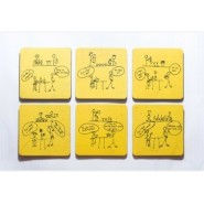 Dumb Bartender Coasters (set)