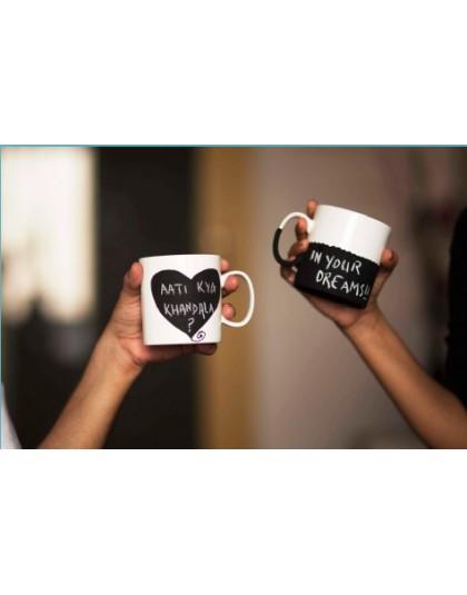 Coffee Conversation Mugs