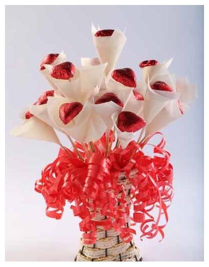 Heart Choclate Bouquet