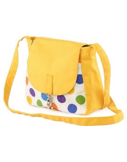 Multicolor Polka dots  Sling Bag