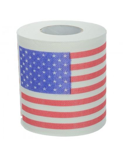 US flag toilet paper