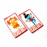 Ganesh & Shiva Fridge Magnets