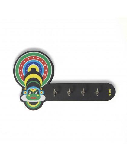 Kathakali Key Holder