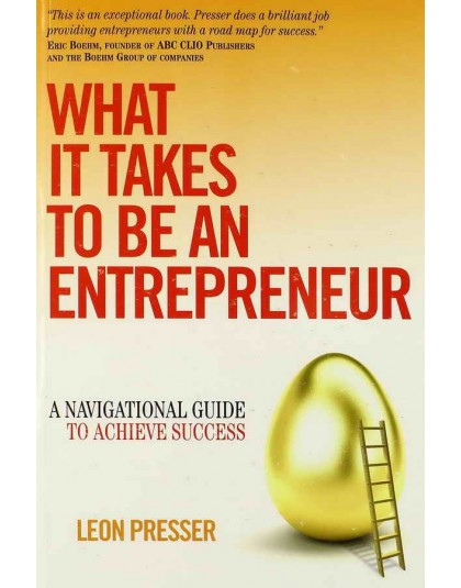 entrepreneurship what it takes to be Almost every day i talk to someone who wants to do something they like for a living, or are already trying it, but need some level of help the.